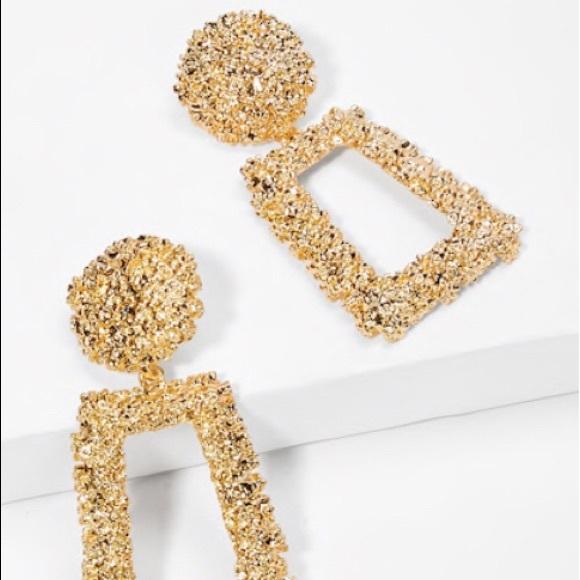 8e318439fa SHEIN Jewelry | Gold Earrings | Poshmark